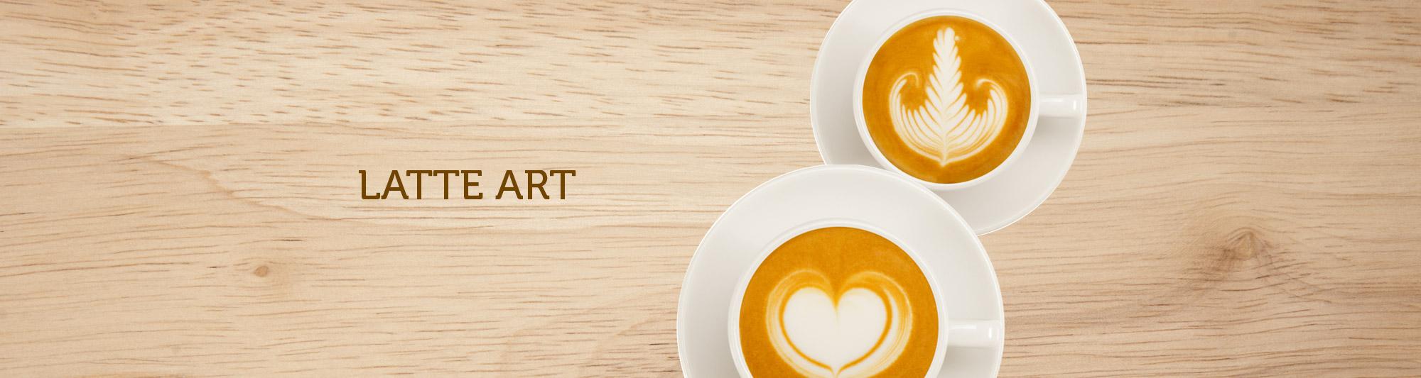 Corso Latte art - cuore e foglia