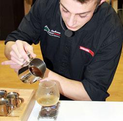 preparazione gare baristi e caffetteria